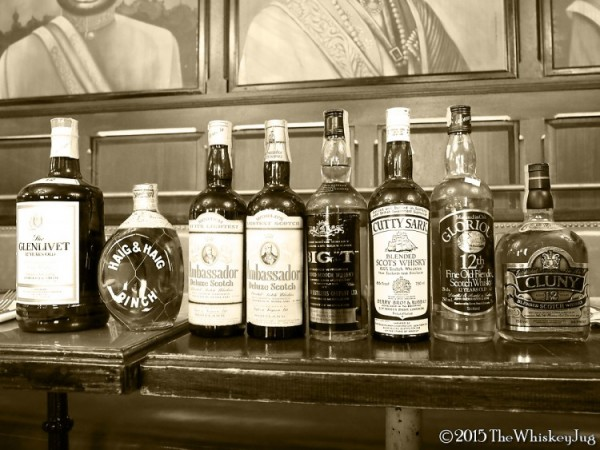 Tax-stamped Scotch tasting - SCWC 1