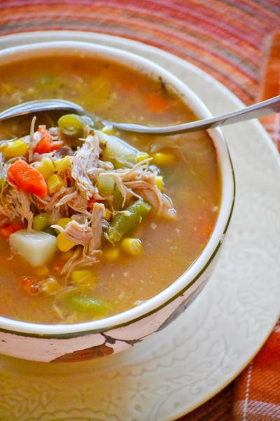 Turkey Vegetable Soup Picture