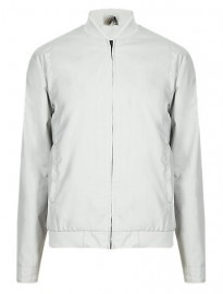Autograph Pure Cotton Bomber Jacket With Stormwear