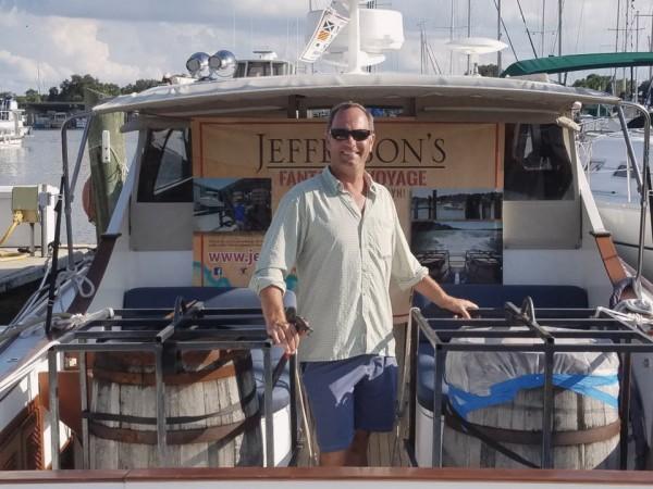 Trey Zoeller - Photo: Jefferson's Bourbon (Facebook)