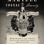 Martell cognac brandy vintage ad
