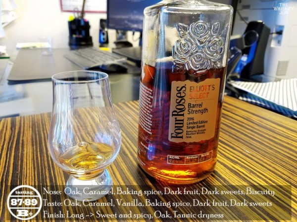 Four Roses Elliot's Select 2016 Review