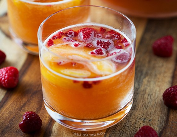 Image result for Cocktail: Peachy Punch