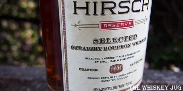 Hirsch Small Batch Bourbon Label