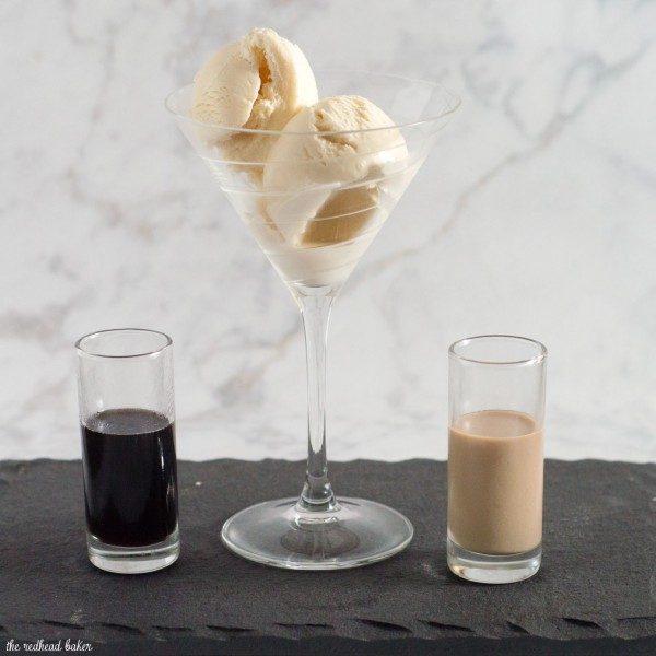 Sweet cream affogato is a simple yet decadent Italian dessert where espresso is poured over ice cream or gelato. Buon appetito!