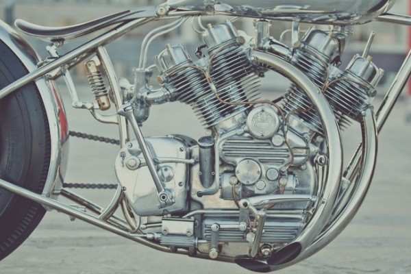 'The Musket' Motorcycle By Hazan Motorworks 3