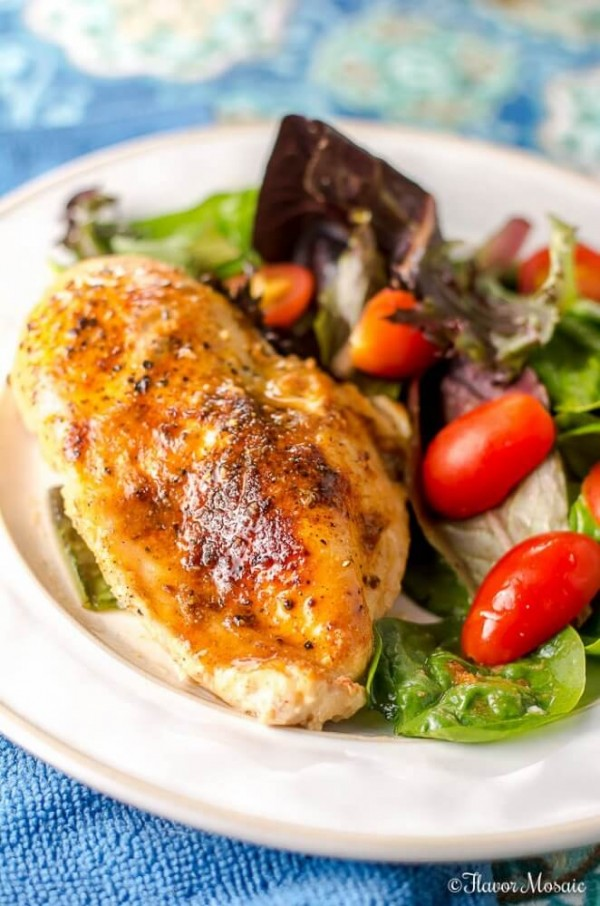Easy Skillet Chicken Breast Weeknight Dinner