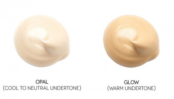 skin tone warm and cool shade names