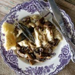 Sherried Chicken and Mushrooms with Crispy Sage
