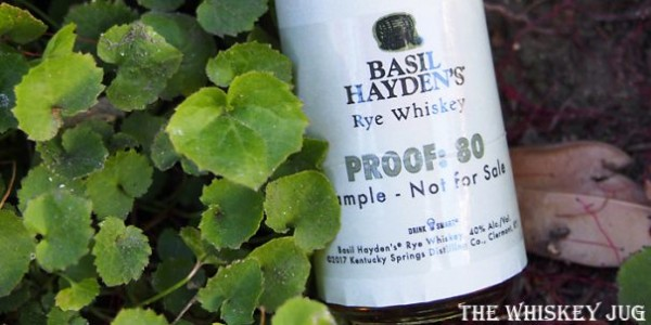 Basil Hayden's Rye Label