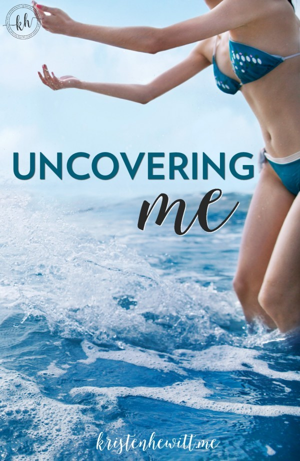What I learned the day I had to borrow a bathing suit from a family member, and was faced with my fears of my self image. Uncover yourself this summer.