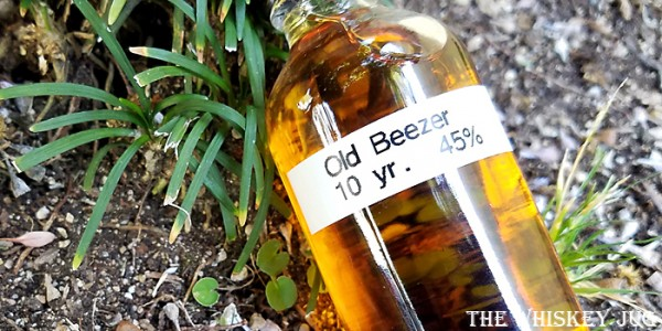 Old Beezer 10 Years Label