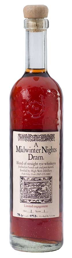 High West Midwinters Night Dram Bottle