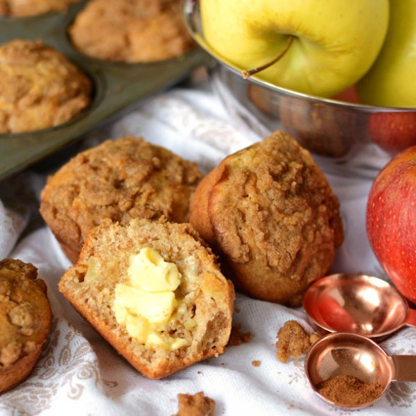 wheat-apple-muffins