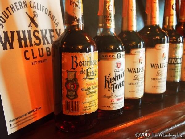 SCWC Tax Stamp Bourbon Tasting - Bourbon Deluxe