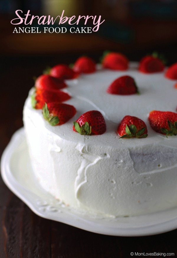 Strawberry Angel Food Cake Today Com