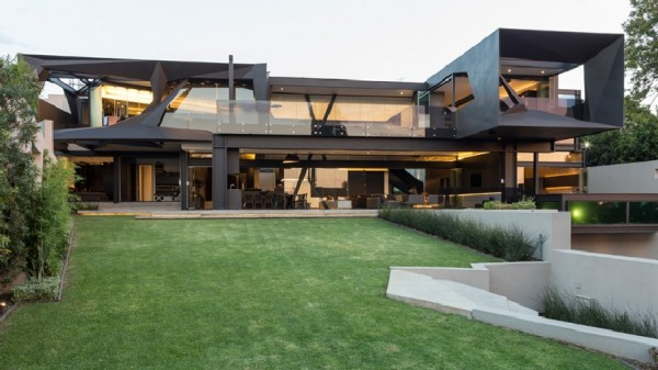 Modern Architecture In South Africa this home in south africa showcases a bold modern architecture