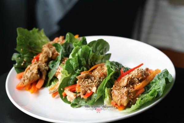 Thai Chicken Lettuce Wraps2