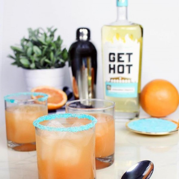 Grapefruit Paloma Featuring Get Hot Tequila