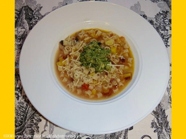 Soup au Pistou or Provencal Minestrone Soup ©EverydayCookingAdventures2016-4