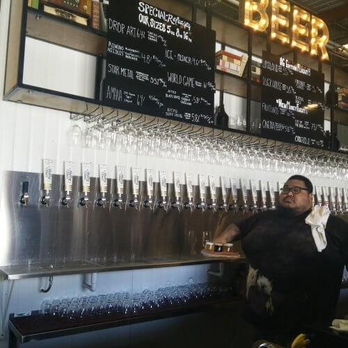 Modern Times Beer Tasting Bar