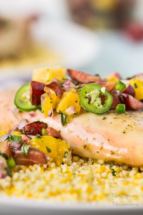 Tequila Sunrise Chicken with Cherry-Orange Salsa-94