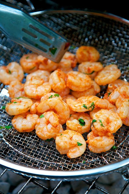 -Marinated & Grilled Louisiana Shrimp Tacos Recipe - shrimp marinated ...