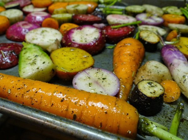 Sorghum Glazed Roasted Carrots Recipe