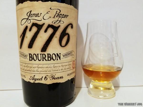 James E Pepper Bourbon 6 Years Color