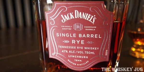 Jack Daniel's Single Barrel Rye Label