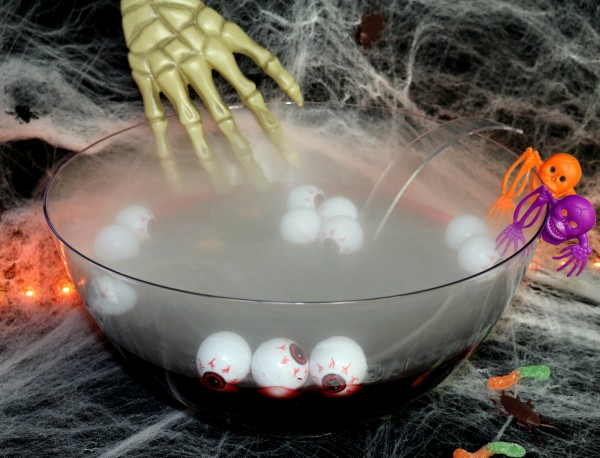 VooDoo Vodka Punch Bowl What To Drink For Halloween DrinkWire Awesome Decorating With Punch Bowls