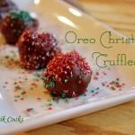 Oreo Christmas Truffles