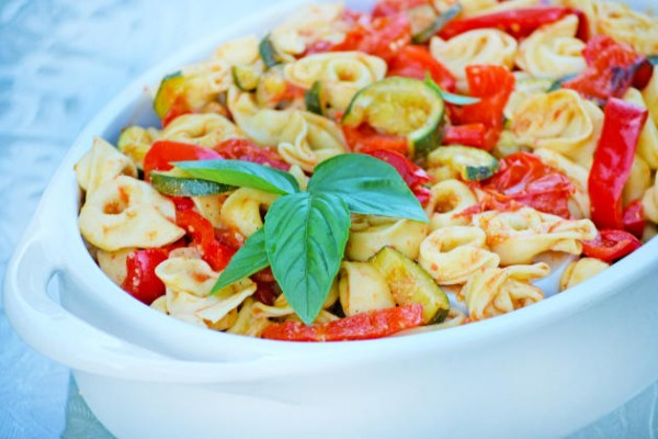 Roasted Vegetable Tortellini Image