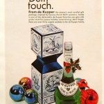 vintage dekuyper ad from 1968