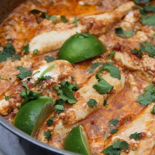 Taco Salsa One Pan Chicken Dinner