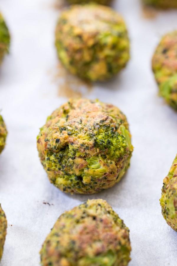 Vegan Quinoa Broccoli Tots by Alyssa Rimmer Epicurious Community