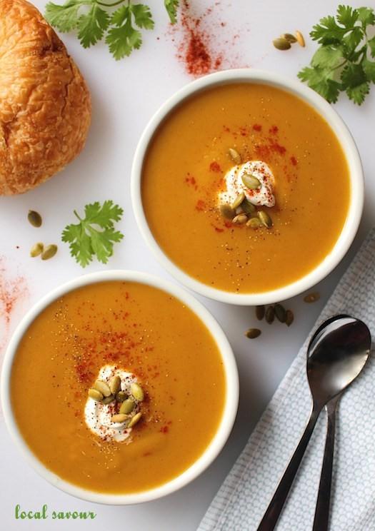 Smokey Pumpkin Soup | LocalSavour.com