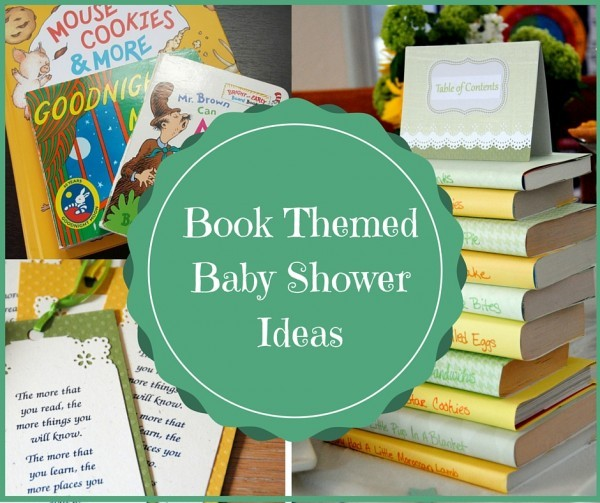 Book Themed Baby Shower Ideas Today