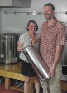 Sherri Fickel and Kevin Krader, owners of Hopkins Ordinary