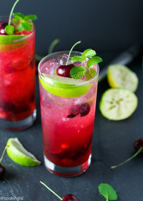 Cherry Lime Mojito | Cooking LSL