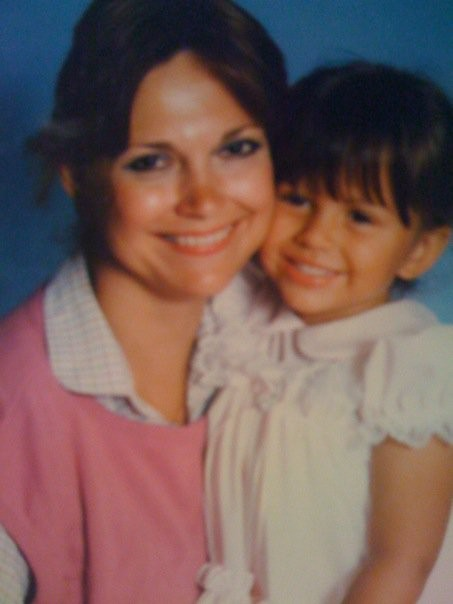 Mommy and Me circa 1985