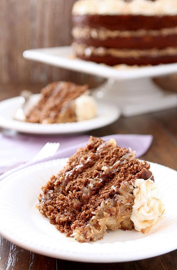 German Chocolate Cake Recipe Epicurious