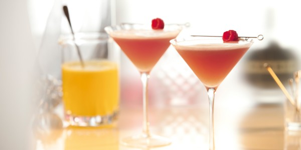 The French Martini With Grey Goose Vodka Drinkwire