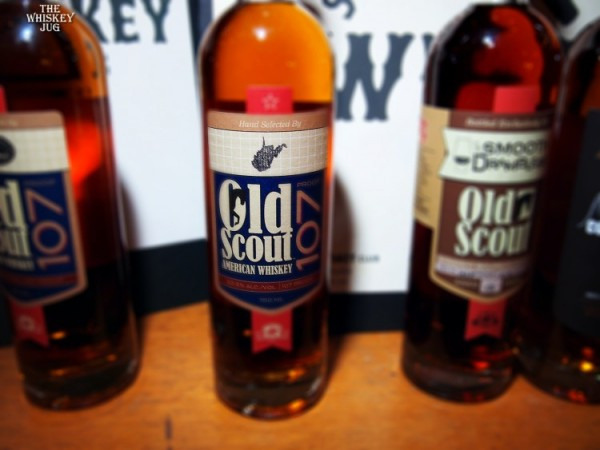 Old Scout American Whiskey 107 - West Virgina Pick