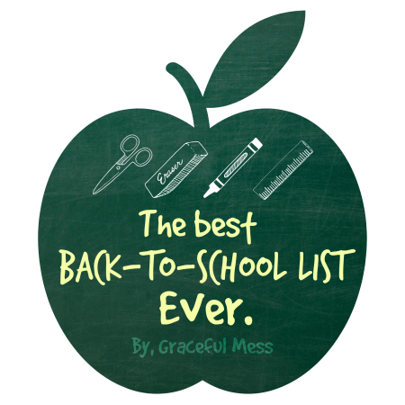 Back-to-School List