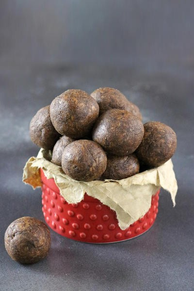 Mocha Almond Bites Image