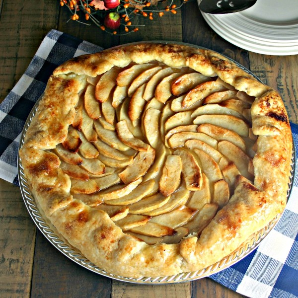 Rustic Apple Tart | Life, Love, and Good Food