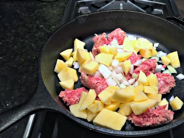 Sausage Apple
