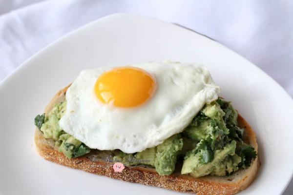 Smashed Avocado Egg Toast10