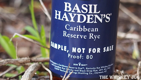 Label for the Carribbean Reserve Rye
